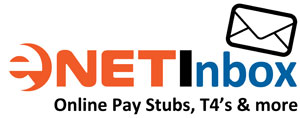 Logo for eNETInbox - cloud based payroll stubs, T4s and bulletin board
